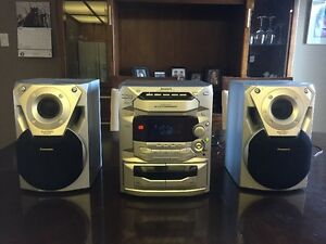 Compact stereo