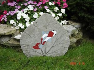 Concrete garden stones made with stained glass. ( Large ) Kingston Kingston Area image 5