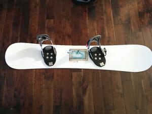 Planche à neige Liquid avec fixation Step-in