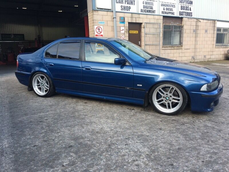 bmw e39 530d topaz blue in newtownards county down gumtree. Black Bedroom Furniture Sets. Home Design Ideas