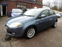 Fiat Bravo 1.4 T-JET 120 ACTIVE (1 OWNER + FULL SERVICE HISTORY + LONG MOT) (blue) 2008