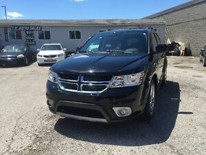 2014 DODGE JOURNEY LMT AUTO TV/DVD 7 SEAT SAFETY & E-TEST