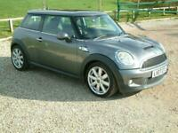 2007 MINI HATCHBACK 1.6 COOPER S AUTOMATIC ONLY 62,000 MILES BIG SPEC NICE CAR H