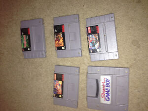 4 Classic SNES games! All very good + a super game boy for it