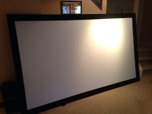 "HD Projector with HD Low Glare 120"" Screen"
