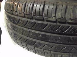 Set of 4 Michelin Latitude Tour HP Tire 235/50R18 - Like New