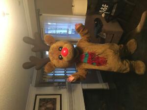 """""""Twinkles"""" reindeer mascot costume"""