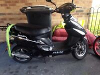 50cc Moped NEW CARB NEW BAND NEW EXHAUST