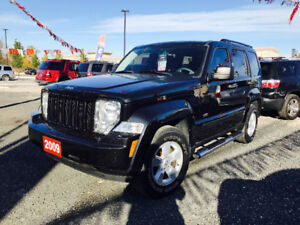 ▀▄▀▄▀▄▀► 2009 JEEP LIBERTY--4X4--REMOTE STARTER ◄▀▄▀▄▀▄▀