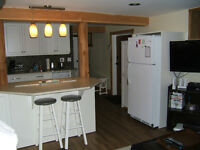 Basement Studio with Den for rent in East Hill