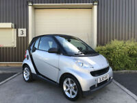 (10) 2010 Smart fortwo 0.8cdi ( 54bhp ) Pulse Diesel Semi Automatic Hatchback