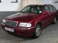 1999 MERCEDES W202 C220 CDI ELEGANCE AUTO DIESEL ESTATE Spares Repairs Good Runn