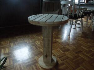 table fait de bobine