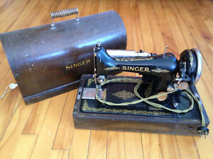 1948 Portable sewing machine