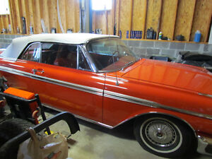 1962 Ford Galaxie 500XL Convertible Red with White top