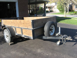 HEAVY DUTY UTILITY TRAILER - REDUCED - NEW PRICE