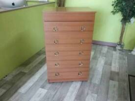 Chest Of Drawers With Lift Up Drawer & Mirror - Can Deliver For £19