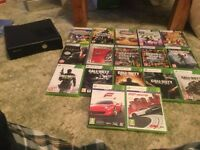 Xbox 360 slim 250gb with lots of extras
