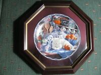 Collector plate wall art