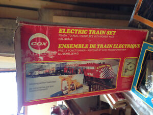 Cox HO scale electric train