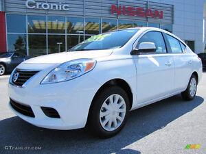 2012 Nissan Versa sedan  for sale