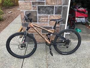 KHS full suspension mountain bike