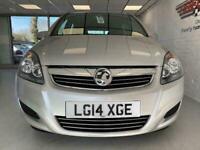 2014 Vauxhall Zafira i VVT Exclusiv MPV Petrol Manual