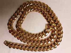 BRAND NEW BIG AND HEAVY CUBAN LINK CHAIN!!!