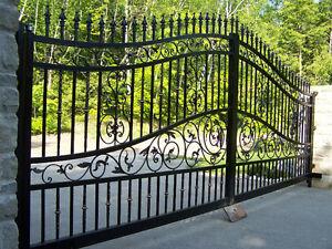 Wrought Iron Gates, Railings and Fences Windsor Region Ontario image 1