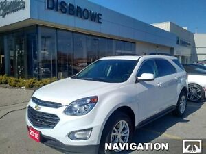2016 Chevrolet Equinox LT   Navigation, Heated Seats, Remote Sta