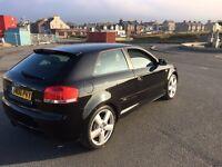 Audi A3 2.0TFSI Sline 200bhp