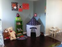 Daycare spot available this fall at LNR in home daycare