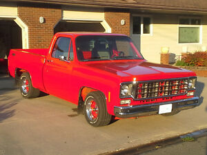 1978 SHORTBOX CHEVY FRAME OFF RESTO ROD