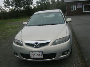 2007 Mazda Mazda6 Gold cloth Sedan