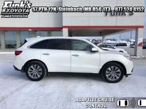2016 Acura MDX Technology  White  Acura MDX Tech at Funks Toyota