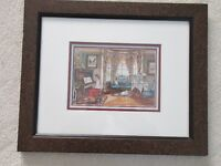 "Trisha Romance Framed Print ""The Music Parlour"""