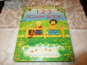 Usborne Farmyard Tales 123 Jigsaw Book - Preschool Learning