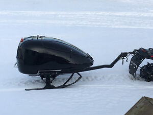 Snowmobile Luggage sleigh