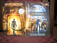 NEW  Chapter Books NIGHT AT THE MUSEUM 1 AND 2 NEW