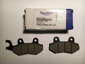 Triumph Speedmaster/America 2008 865 OEM Rear Brake Pads, New.