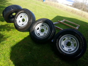 F 250 wheels and tires