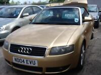 Audi A4 Cabriolet 2.5TDI DIESEL,1 PREVIOUS OWNER,SERVICE HISTORY