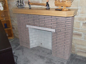 FREE!!!!      Fireplace Display Unit