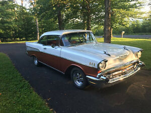 1957 Chevrolet Bel Air/150/210 Pearl/Copper Coupe (2 door) RARE
