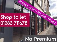 Commercial*Shop to let -No Premium- Everything New*ReadyforBusiness*