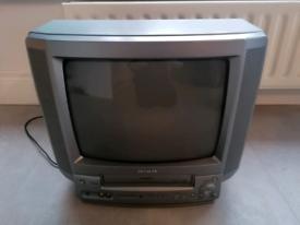 TV video combi with scart in