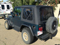 1998 Jeep TJ 4x4 swap for 4x4 truck with canopy no junk please