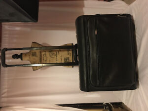 Large Wheeled / Rolling Breifcase / laptop or lawyer's briefcase