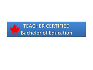 Teacher Certified – Math Tutor, Summerside/Mill Woods/Downtown