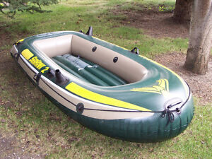 Seahawk 2 person inflatable boat package